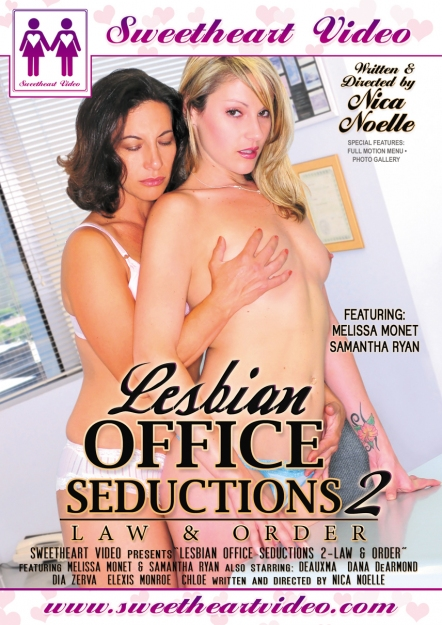 Lesbian Office Seductions #02