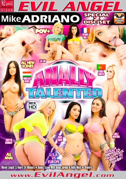 Anally Talented DVD