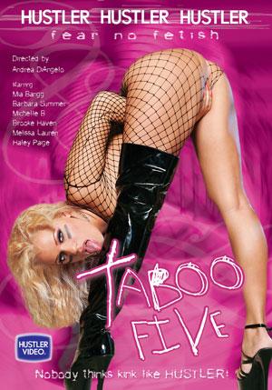 Hustler's Taboo #5 DVD