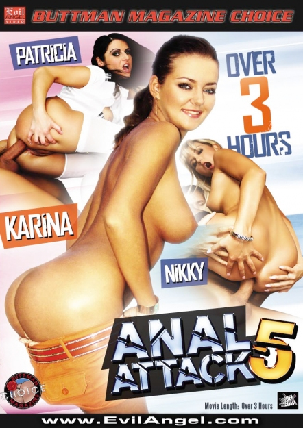 Anal Attack #05 DVD