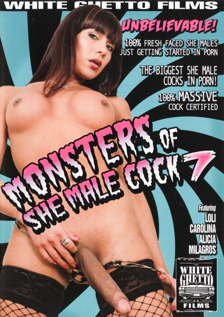 Monsters Of Shemale Cock #07