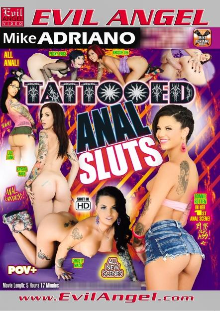 Tattooed Anal Sluts DVD