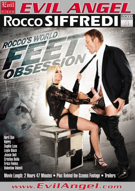 Rocco's World Feet Obsession DVD