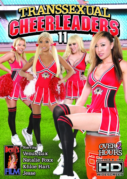 Transsexual Cheerleaders #11 DVD
