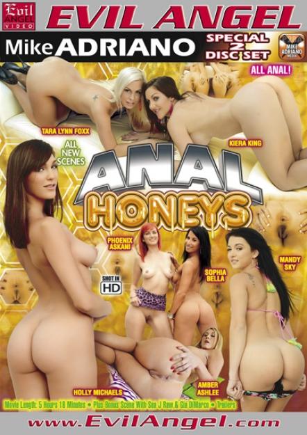 Anal Honeys DVD