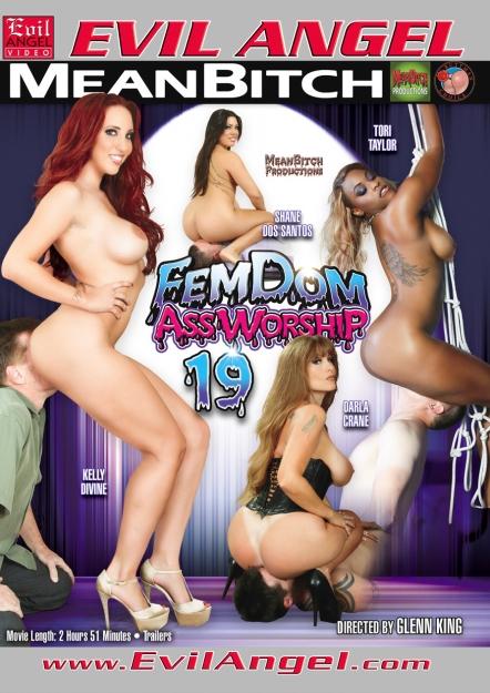 Femdom Ass Worship #19 DVD