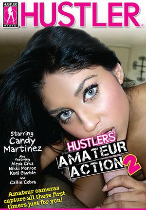 Hustler's Amateur Action #2 DVD