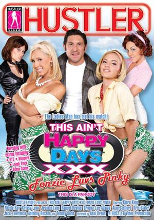 This Ain't Happy Days XXX Fonzie Luvs Pinky DVD