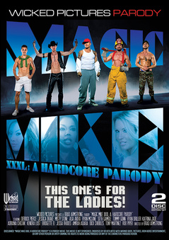 Magic Mike XXXL A Hardcore Parody DVD
