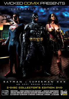 Batman V Superman XXX: An Axel Braun Parody DVD