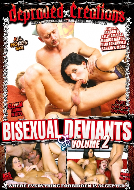 Bisexual Deviants Volume 02 DVD