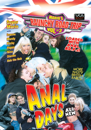 Mario's Raunchy Road Trip #2 - Anal Days DVD