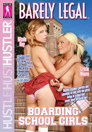 Barely Legal Boarding School Girls DVD