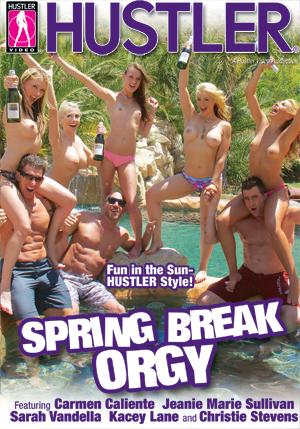 Spring Break Orgy DVD