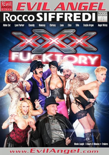 XXX Fucktory - The Parody Italian Style DVD