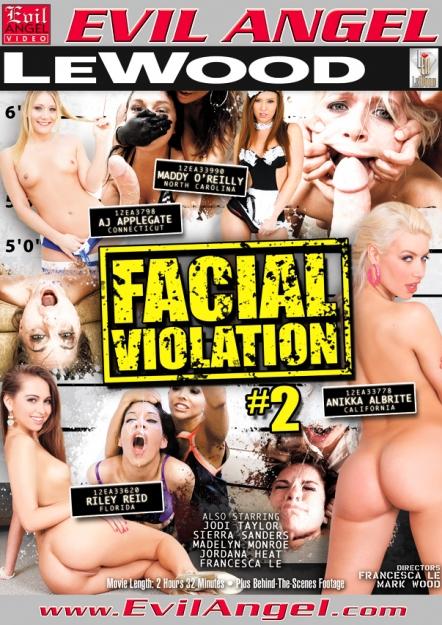 Facial Vi0lation #02 DVD