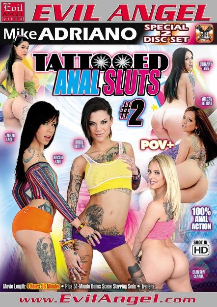 Tattooed Anal Sluts #02 DVD