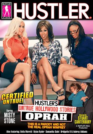 Hustler's Untrue Hollywood Stories: Oprah DVD