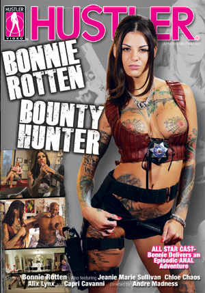 Bonnie Rotten Bounty Hunter DVD