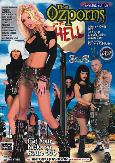The Ozporns Go To Hell DVD