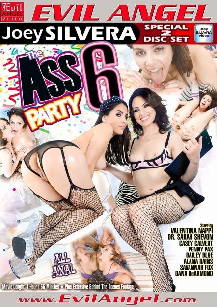 The Ass Party #06 DVD