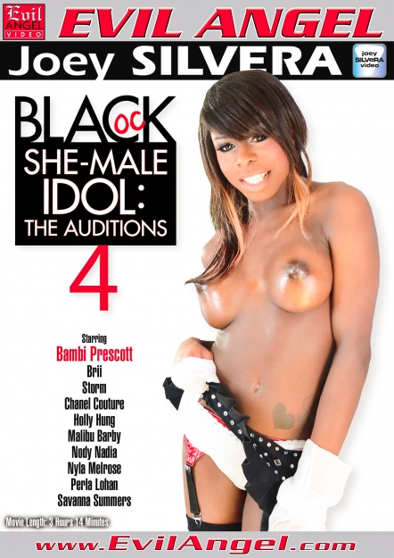 Black Shemale Idol - The Auditions #04 DVD