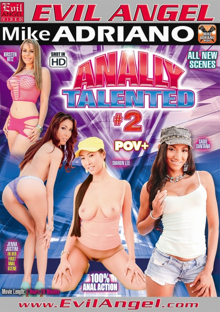 Anally Talented #02 DVD