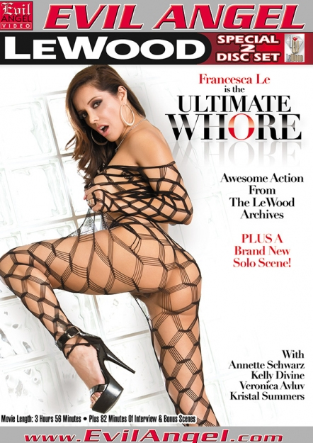Francesca Le Is The Ultimate Whore DVD