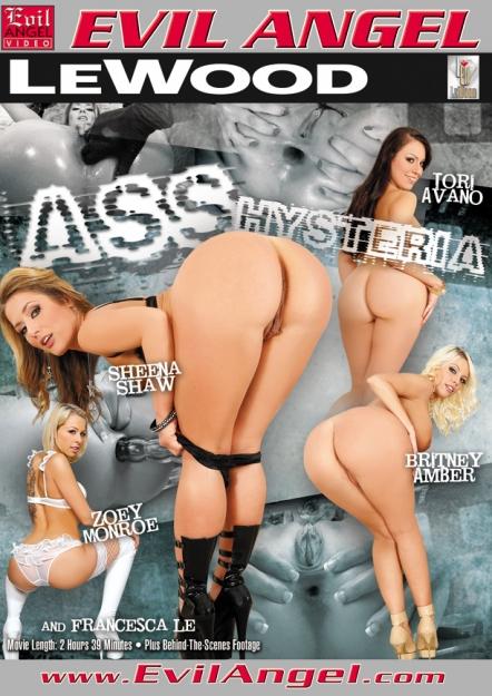 Ass Hysteria DVD