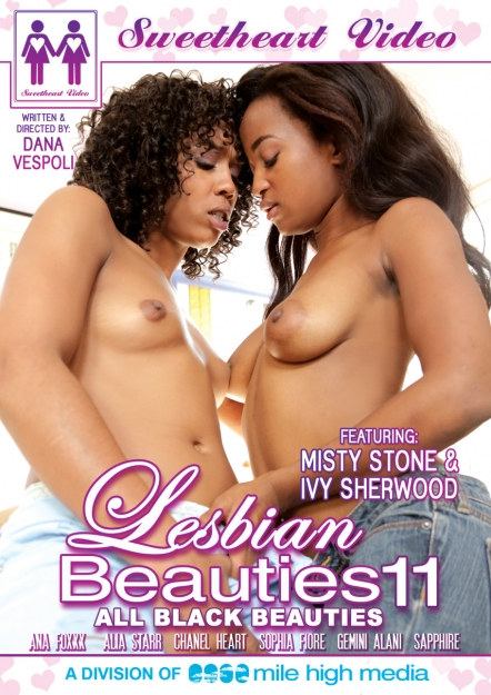 Lesbian Beauties #11 - All Black DVD