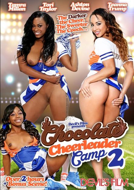 Chocolate Cheerleader Camp #02 DVD