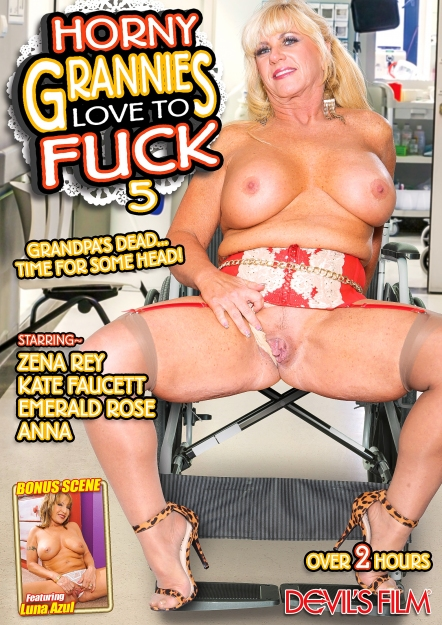 Horny Grannies Love To Fuck #05