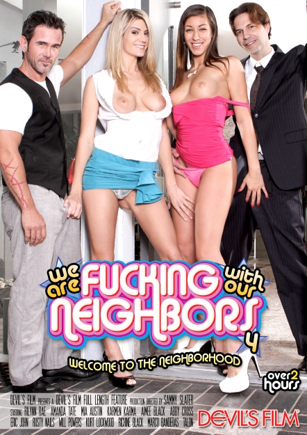 We Are Fucking With Our Neighbors #04 DVD