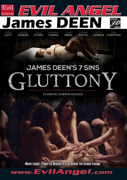 James Deen's 7 Sins - GLUTTONY DVD