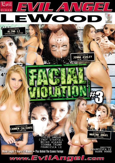 Facial Vi0lation #03 DVD