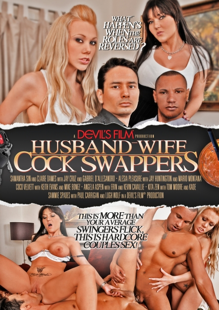 Husband Wife Cock Swappers DVD