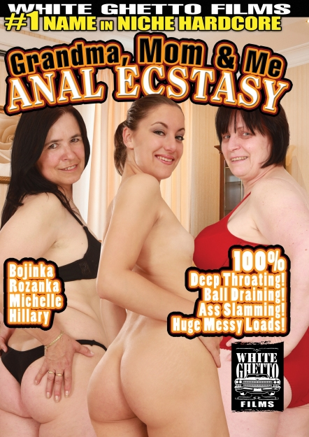 Grandma, Mom And Me Anal Ecstasy