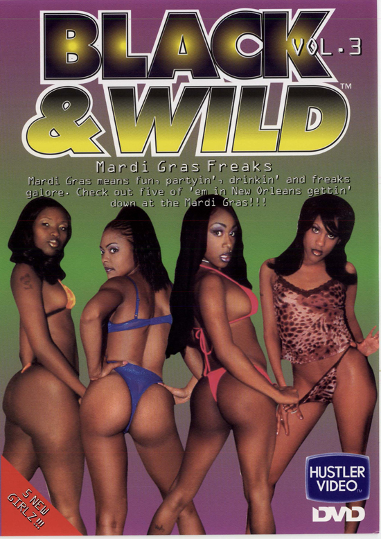 Black and Wild #3 DVD