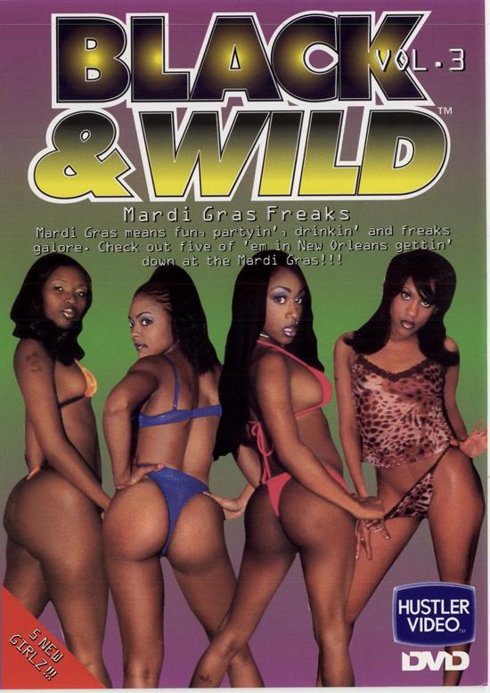 Black and Wild #3 DVD