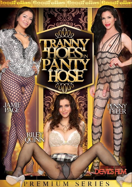 Tranny Hoes In Pantyhose DVD