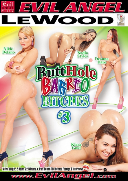 Butthole Barrio Bitches #03 DVD