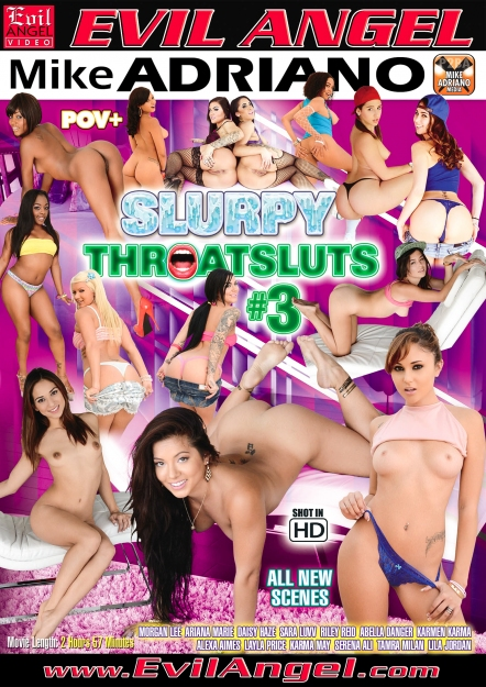 Slurpy Throatsluts #03 DVD