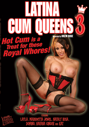 Latina Cum Queens #3 DVD