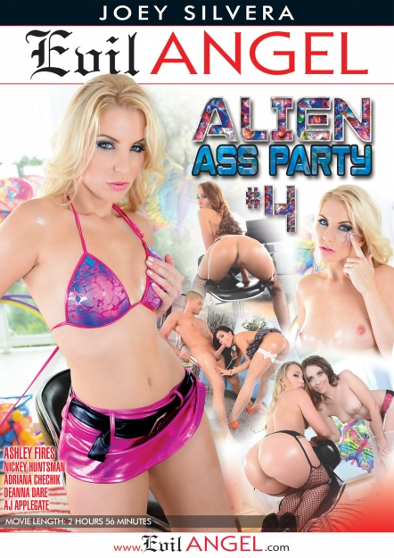 Alien Ass Party #04 DVD