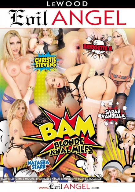 BAM Blonde Anal MILFs DVD