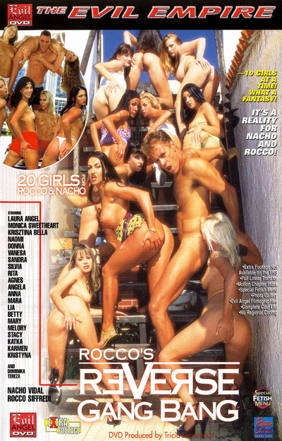 Reverse Gang Bang #01 DVD