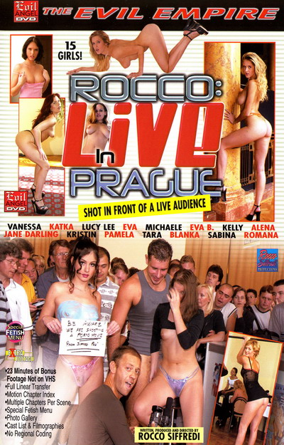 Rocco Live In Prague DVD
