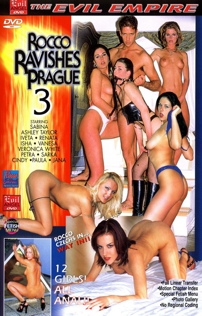 Rocco Ravishes Prague #03 DVD