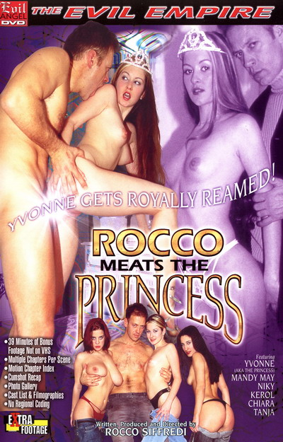 Rocco Meats The Princess DVD