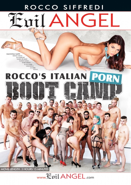Rocco's Italian Porn Boot Camp DVD